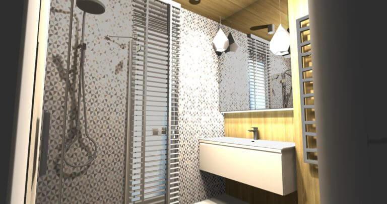 Wizualizacje łazienki