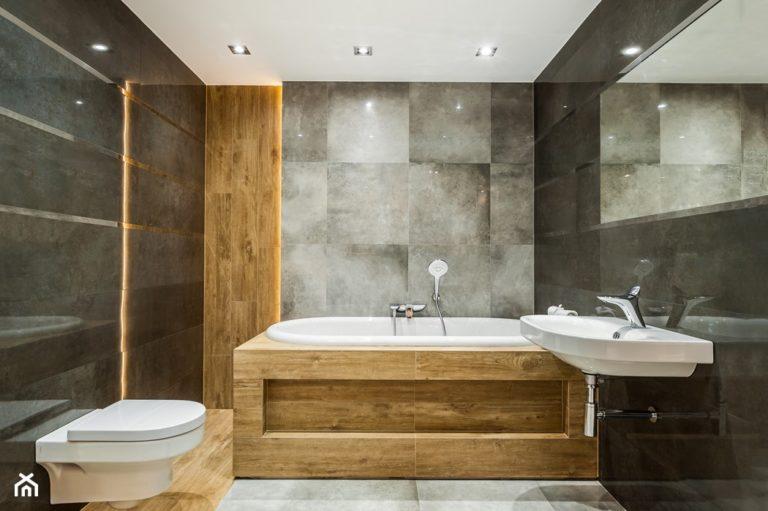 Beton – sposób na modną łazienkę