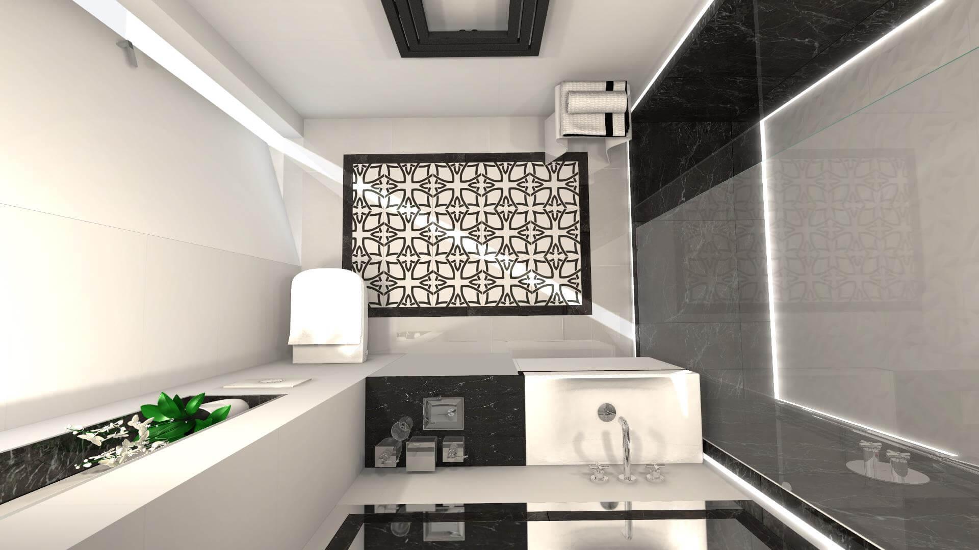 Wizualizacja łazienki Blockpolpl