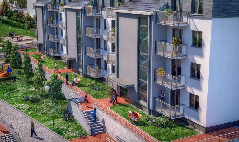 Zalety mieszkania na parterze